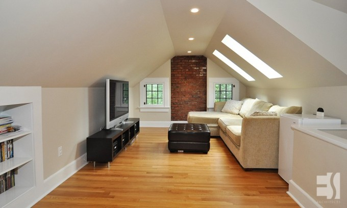 Attic Renovation - EScott Architects, LLC