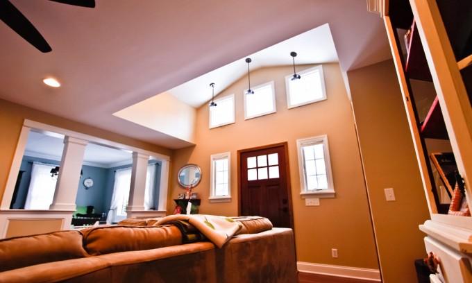 Front Living Room Addition Escott Architects Llc